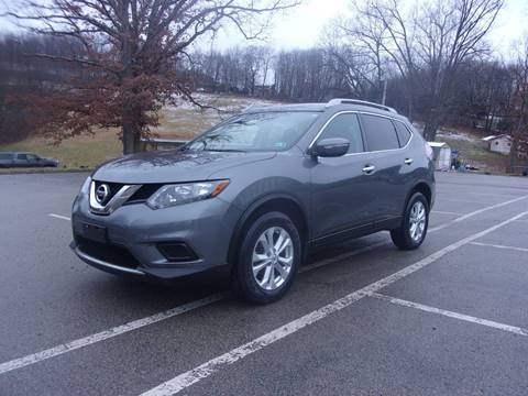 2015 Nissan Rogue for sale at Pyles Auto Sales in Kittanning PA