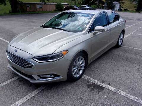 2017 Ford Fusion for sale at Pyles Auto Sales in Kittanning PA