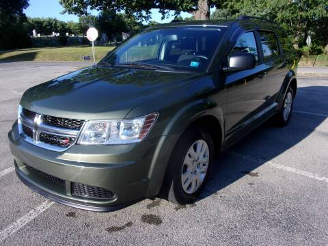 2016 Dodge Journey for sale at Pyles Auto Sales in Kittanning PA