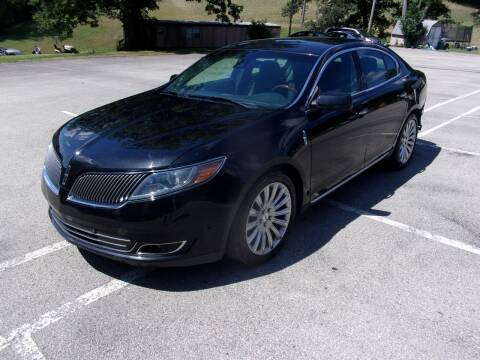 2014 Lincoln MKS for sale at Pyles Auto Sales in Kittanning PA