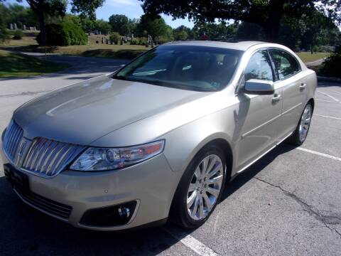 2010 Lincoln MKS for sale at Pyles Auto Sales in Kittanning PA