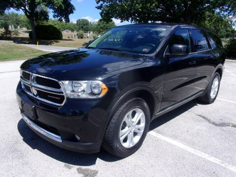 2013 Dodge Durango for sale at Pyles Auto Sales in Kittanning PA