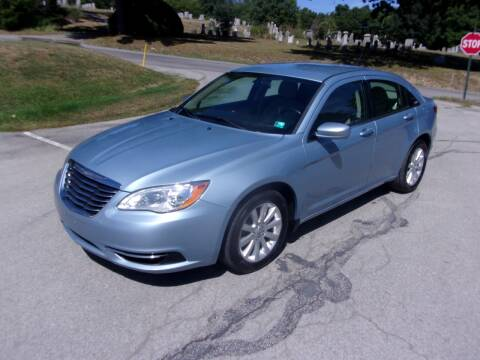2012 Chrysler 200 for sale at Pyles Auto Sales in Kittanning PA