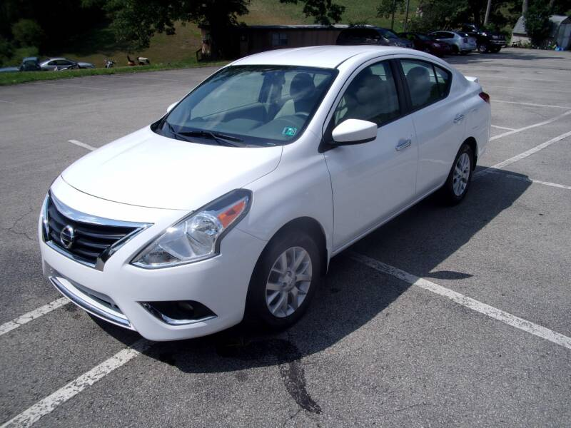2015 Nissan Versa for sale at Pyles Auto Sales in Kittanning PA