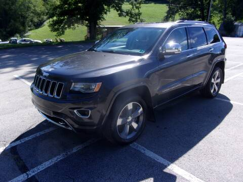 2015 Jeep Grand Cherokee for sale at Pyles Auto Sales in Kittanning PA