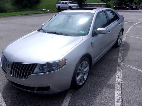 2010 Lincoln MKZ for sale at Pyles Auto Sales in Kittanning PA