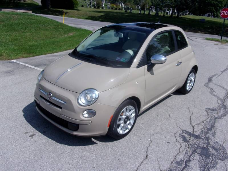 2012 FIAT 500 for sale at Pyles Auto Sales in Kittanning PA