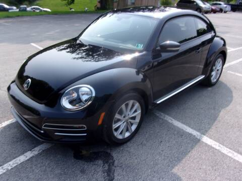 2017 Volkswagen Beetle for sale at Pyles Auto Sales in Kittanning PA