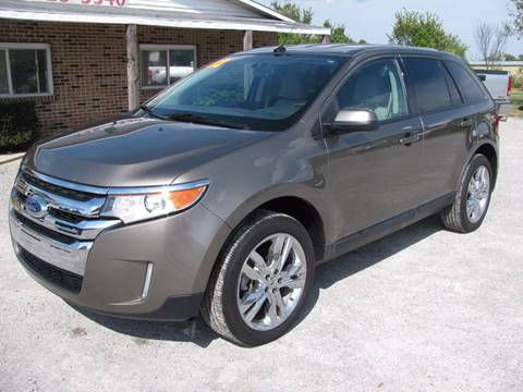 2012 Ford Edge for sale at Jacks Auto Sales in Mountain Home AR