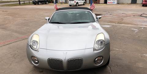 2008 Pontiac Solstice for sale in Houston, TX