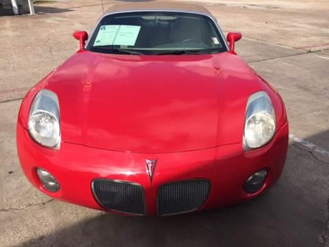 2007 Pontiac Solstice for sale in Houston, TX
