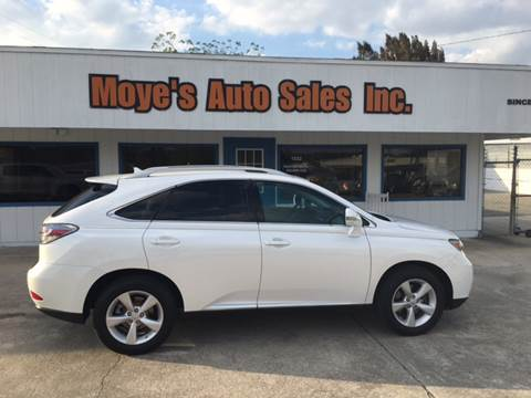 2012 Lexus RX 350 for sale at Moye's Auto Sales Inc. in Leesburg FL