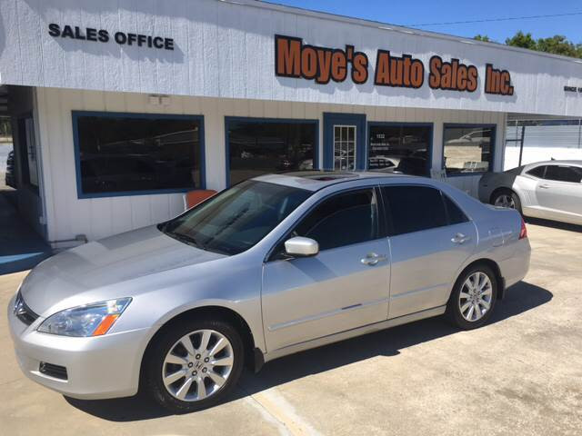 2007 Honda Accord EX L V 6 4dr Sedan (3L V6 5A)