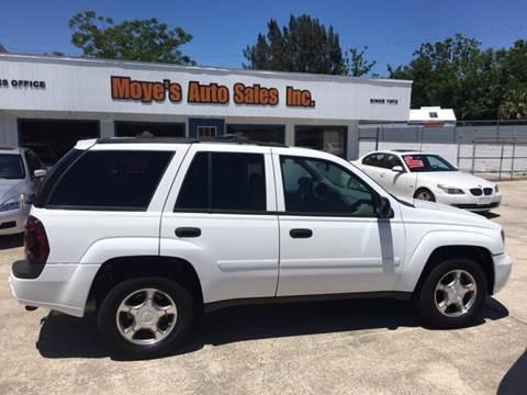 2008 Chevrolet TrailBlazer for sale at Moye's Auto Sales Inc. in Leesburg FL