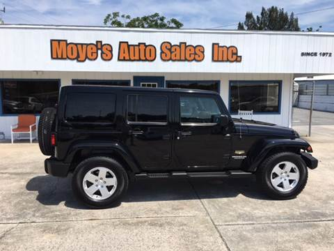 2012 Jeep Wrangler Unlimited for sale at Moye's Auto Sales Inc. in Leesburg FL