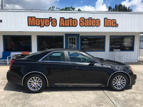 2011 Cadillac CTS for sale at Moye's Auto Sales Inc. in Leesburg FL