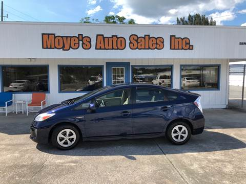 2013 Toyota Prius for sale at Moye's Auto Sales Inc. in Leesburg FL
