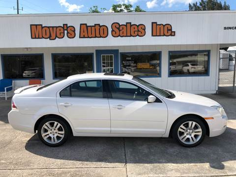 2009 Ford Fusion for sale at Moye's Auto Sales Inc. in Leesburg FL