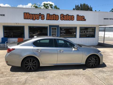 2015 Lexus GS 350 for sale at Moye's Auto Sales Inc. in Leesburg FL