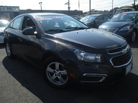 2015 Chevrolet Cruze for sale at New Jersey Used Cars Center in Irvington NJ