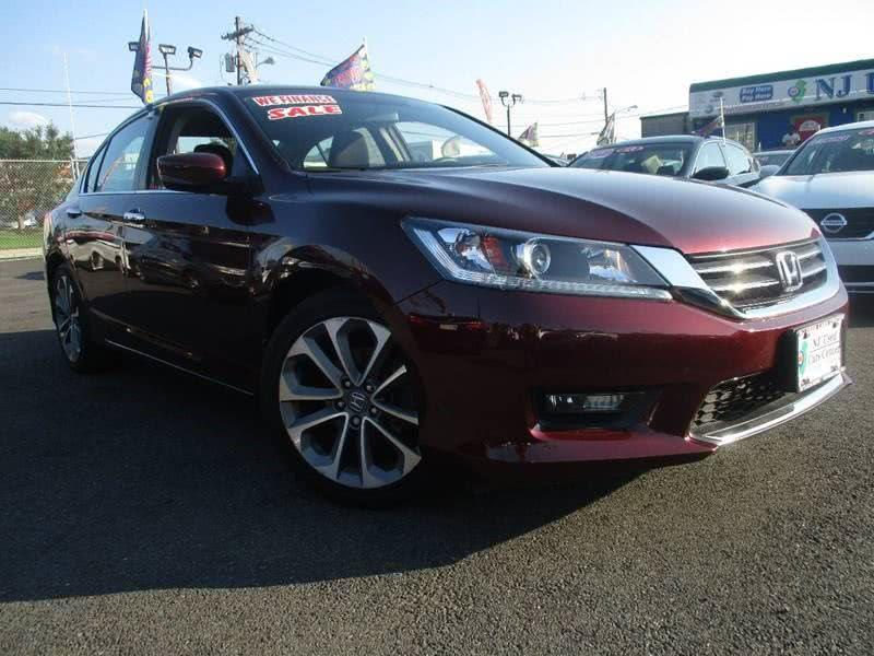 2015 Honda Accord Sport 4dr Sedan CVT   Irvington NJ
