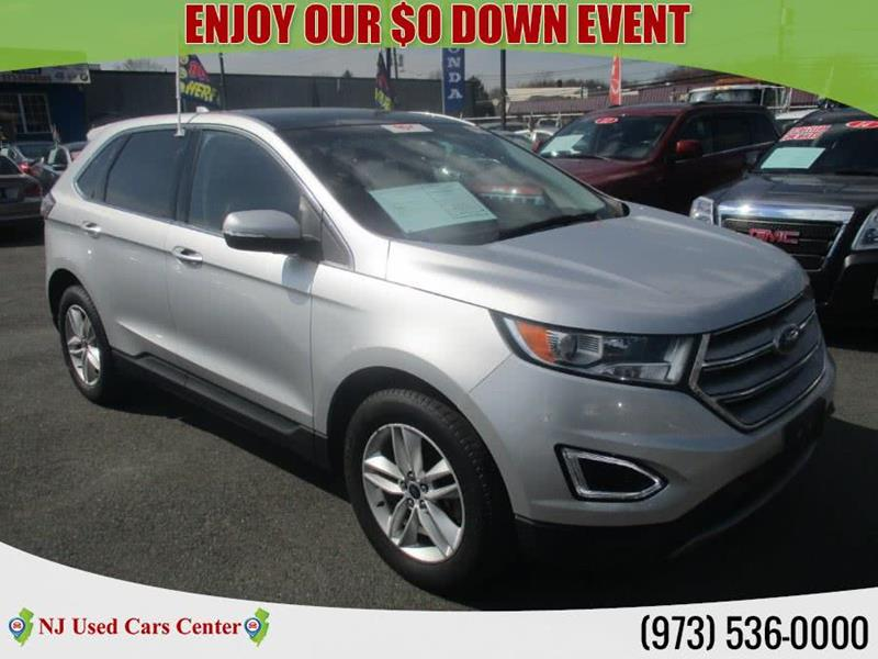 2015 ford edge awd sel 4dr crossover in irvington nj new jersey used cars center. Black Bedroom Furniture Sets. Home Design Ideas