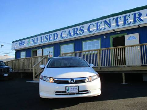 2012 Honda Civic for sale at New Jersey Used Cars Center in Irvington NJ