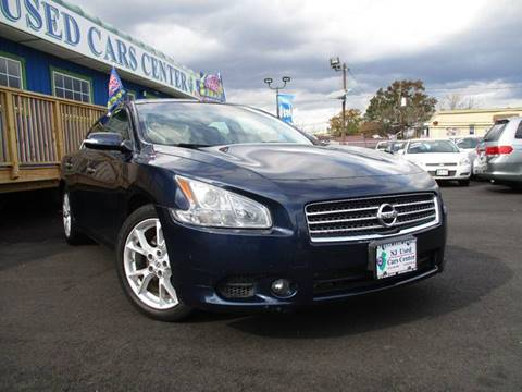 2010 Nissan Maxima for sale at New Jersey Used Cars Center in Irvington NJ