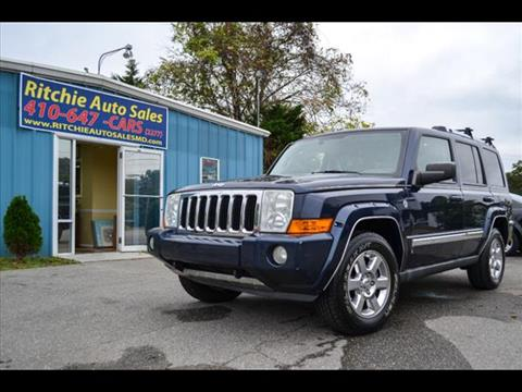 2006 Jeep Commander for sale in Pasadena, MD