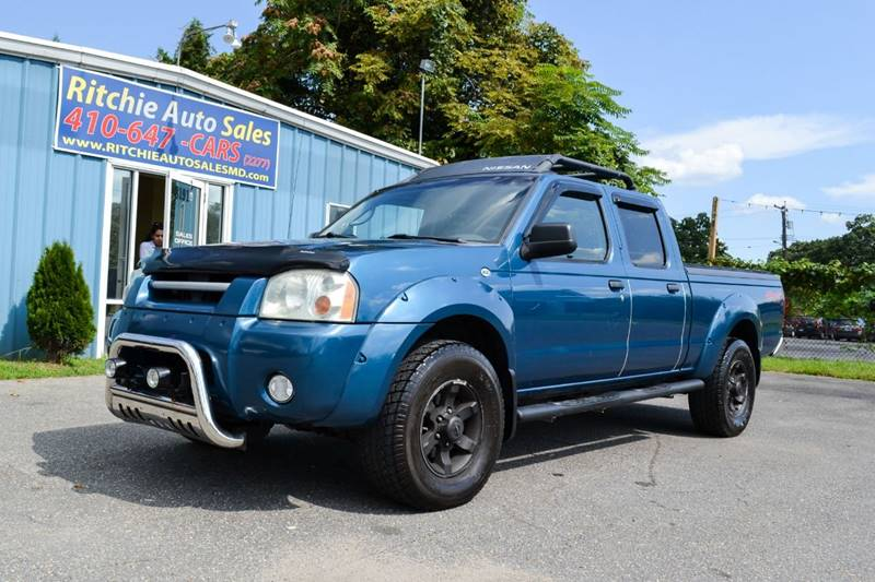 2004 Nissan Frontier 4dr Crew Cab Xe V6 4wd Lb In Pasadena Md
