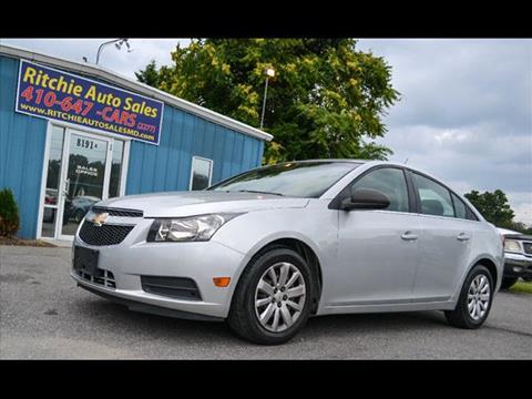 2011 Chevrolet Cruze for sale in Pasadena, MD