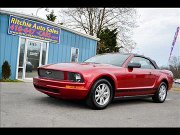 2007 Ford Mustang for sale in Pasadena, MD