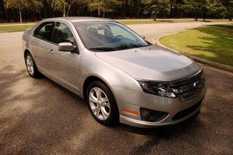 2012 Ford Fusion for sale in Myrtle Beach SC
