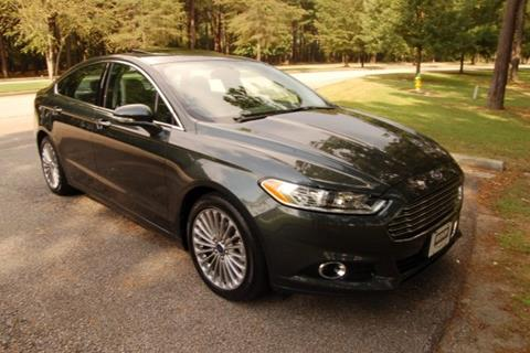2015 Ford Fusion for sale in Myrtle Beach SC