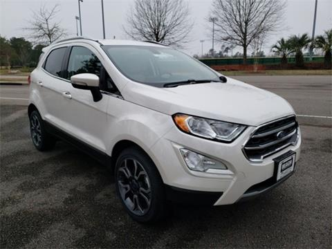 2018 Ford EcoSport for sale in Myrtle Beach, SC
