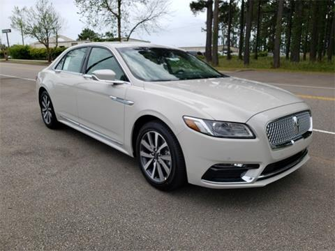 2019 Lincoln Continental for sale in Myrtle Beach, SC