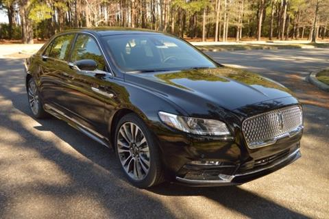 2017 Lincoln Continental for sale in Myrtle Beach, SC