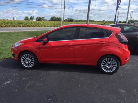 2014 Ford Fiesta for sale at Rick Runion's Used Car Center in Findlay OH