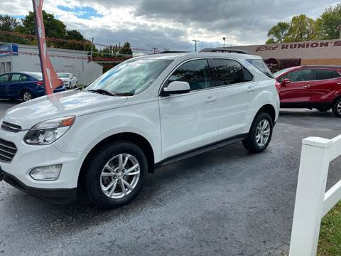 2016 Chevrolet Equinox for sale at Rick Runion's Used Car Center in Findlay OH