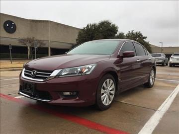 2014 Honda Accord for sale at Makka Auto Sales in Dallas TX