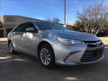 2016 Toyota Camry for sale at Makka Auto Sales in Dallas TX