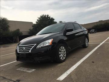 2015 Nissan Sentra for sale at Makka Auto Sales in Dallas TX