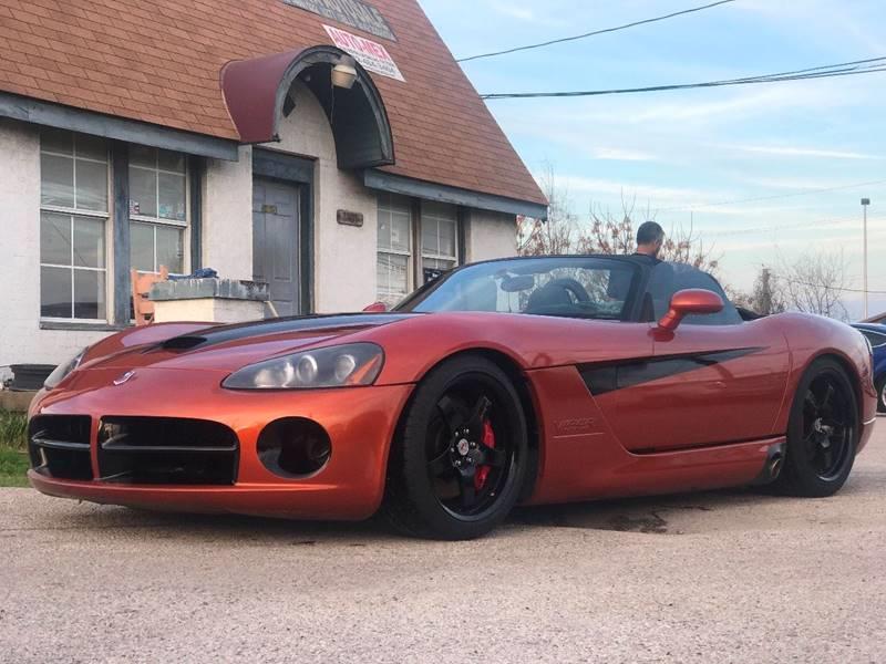 2005 Dodge Viper for sale at Makka Auto Sales in Dallas TX