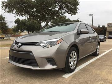 2016 Toyota Corolla for sale in Dallas, TX