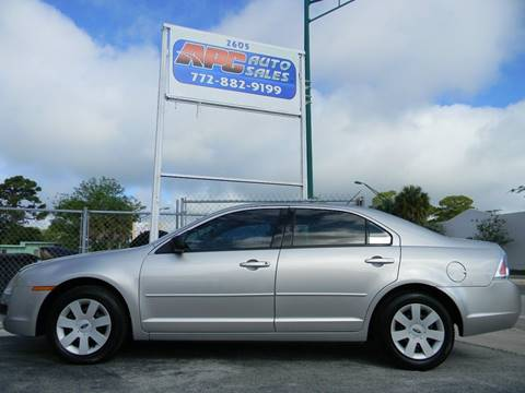 2007 Ford Fusion for sale in Fort Pierce, FL