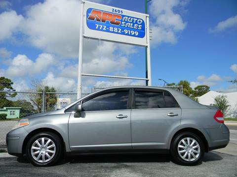 2007 Nissan Versa for sale in Fort Pierce, FL