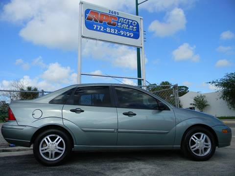 2003 Ford Focus for sale in Fort Pierce, FL