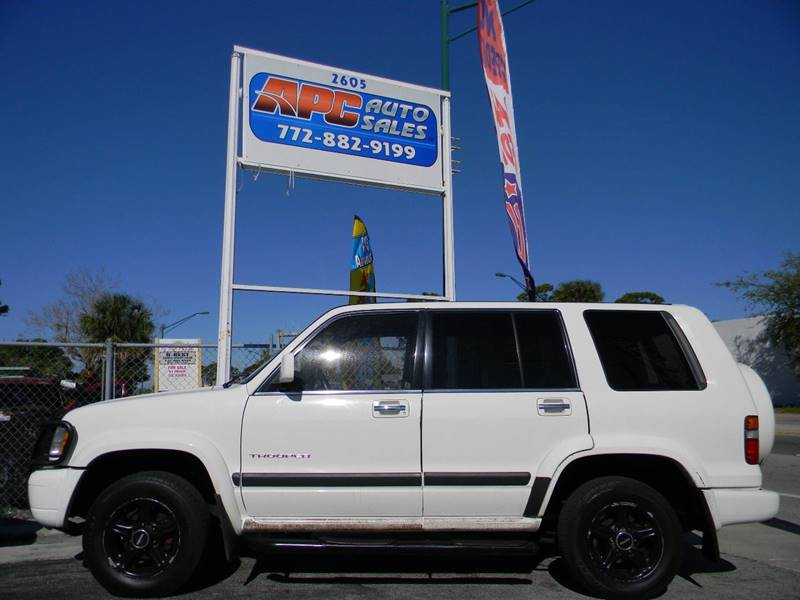 1999 isuzu trooper 4dr s 4wd suv in fort pierce fl - apc auto sales