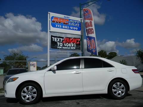2010 Toyota Camry for sale at APC Auto Sales in Fort Pierce FL