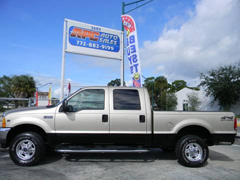 2001 Ford F-250 Super Duty for sale in Fort Pierce, FL